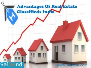 Advantages Of Real Estate Classifieds India