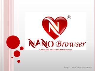 Nano Browser is a free browser for Mac