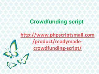 Crowd Funding Script