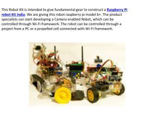 Raspberry Pi Robot Kit India