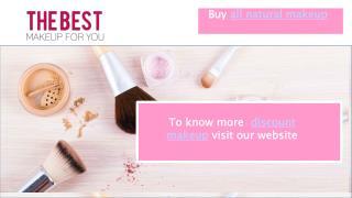 Discount makeup