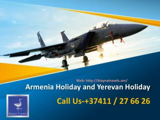 Yerevan Tour Packages | Yerevan Holiday Packages