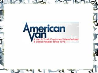 Pick up or work truck accessories & van accessories