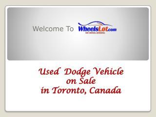 Used Dodge Grand Caravan on Sale in Toronto