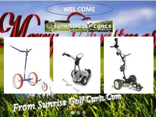 Sunrisegolfcarts PPT