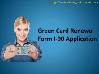 Green card renewal
