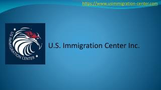 U.S. Immigration Center
