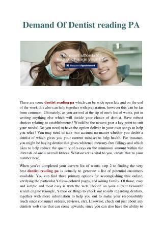 Dentist Reading PA-Affordable Dental Solutions.pdf
