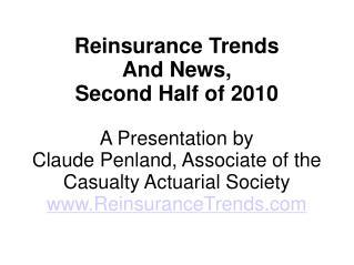 REINSURANCE NEWS TRENDS