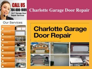 Charlotte Garage Door Repair Services