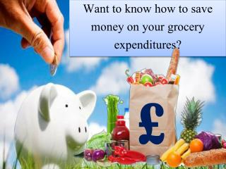 Save Money On Grocery Purchase!