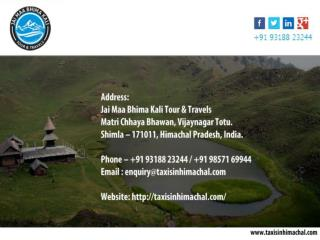 Best Tour deals in Himachal Pradesh