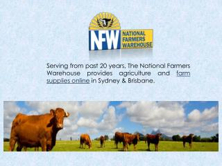 The Best Quality Farm and Rural Supplies in Sydney & Brisbane
