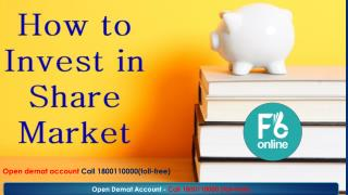 How To Invest In Share Market.