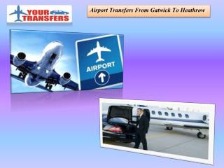 Luton Airport Transfers Service To London