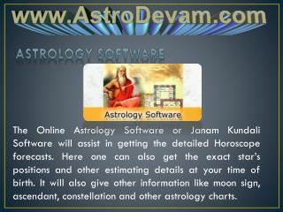 Astrology Software Full Version For Windows, Android and MAC