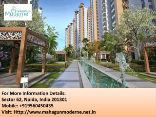 Spacious & Inviting Mahagun Moderne Apartment Call  91 9560450435