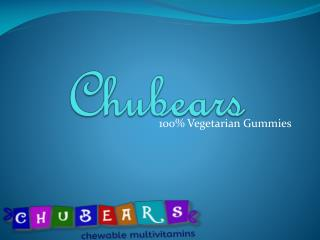 Health Supplements For Kids Chubears Chennai