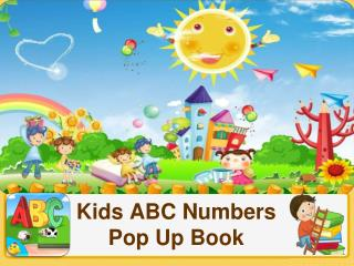 Download Kids ABC Numbers Pop Up Book for Free