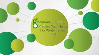 Prepare your Home for Winter 7 Top Tips