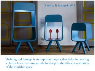 Shelving And Storage Solution in UAE