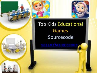Top Kids Eduacational Games Sourcecode