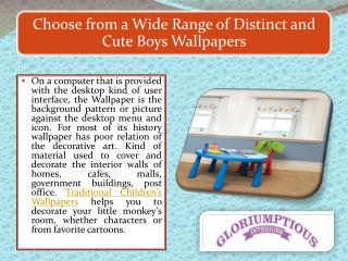 Choose from a Wide Range of Distinct and Cute Boys Wallpapers