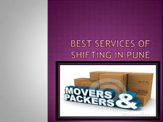 Ensure no trikking in Your Move in Pune