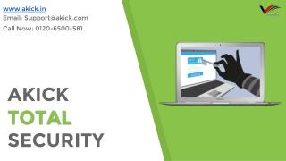Computer Security - Akick Best PC Security Software