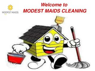 MODEST MAIDS CLEANING