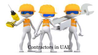 contactors in UAE