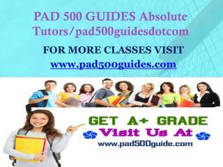 PAD 500 GUIDES Absolute Tutors/pad500guidesdotcom
