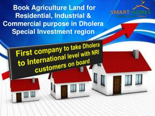 Buy Agriculture Land for Residential & Commercial Purpose