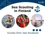 Sea Scouting  in Finland