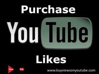 Purchase YouTube Likes