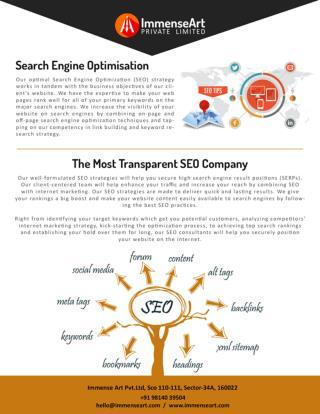 SEO and Digital Marketing Company in India