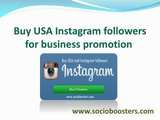 Buy USA Instagram followers:-www.socioboosters.com