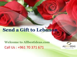 961 70 371 671 Send Gifts to Lebanon of the Best International Brands
