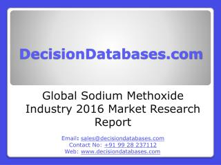 Global Sodium Methoxide Industry Sales and Revenue Forecast 2016