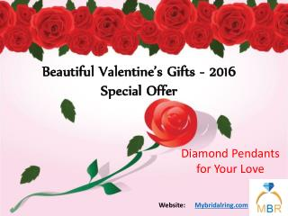 Diamond Pendants Can Make Meaningful Valentine's Gifts