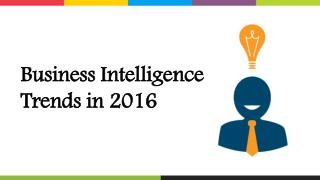 Top Business Intelligence Trends