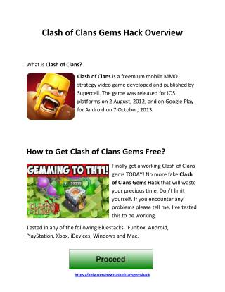 How to get clash of clans gems free