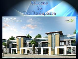 The Hemisphere luxury Golf Villas Greater Noida