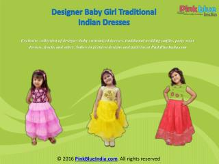 Exclusive Designer Indian Kids Dresses for Girls