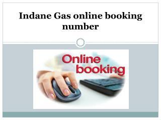 indane gas online booking number