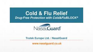 NasalGuard UK Cold and Flu Relief Presentation