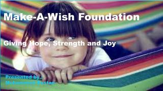 Make A Wish Foundation Pakistan