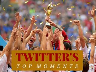 Twitter's top moments