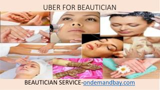 Uber for Beautician service
