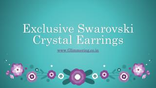Fashion Swarovski Earrings for Women and Girls,Studs Online at Low Price